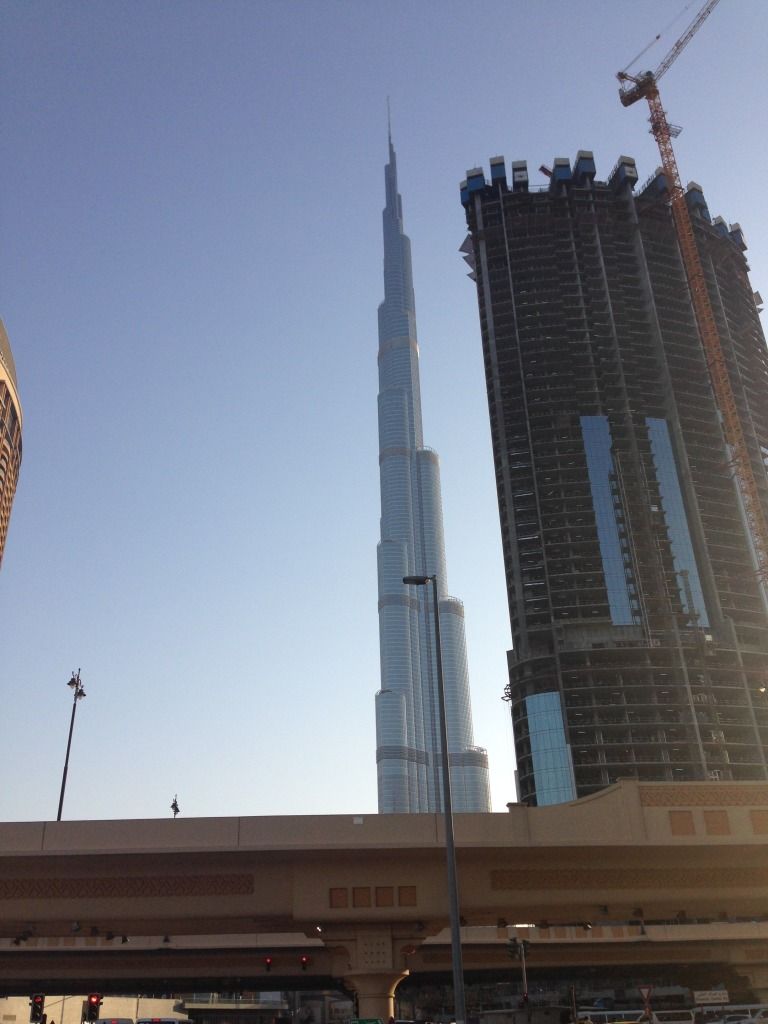 Burj Khalifa is the world's tallest building