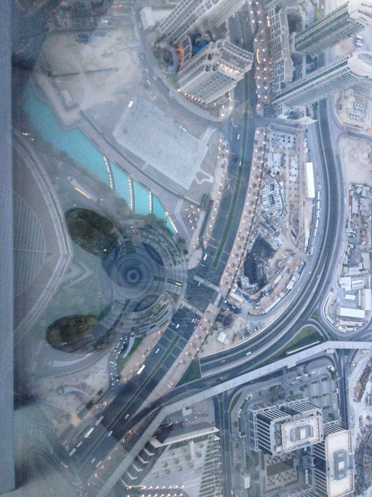 Another almost straight down picture from Burj Khalifa